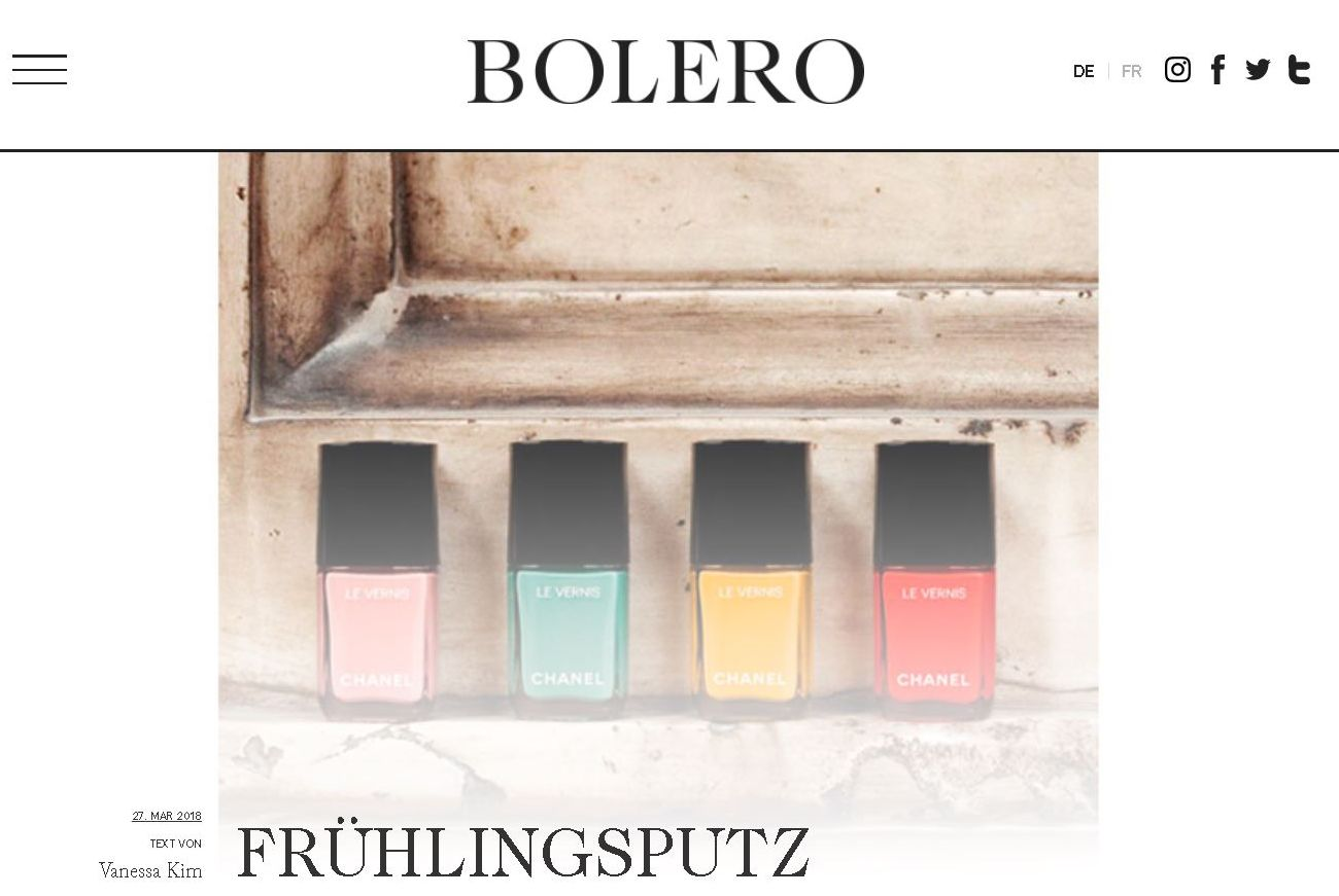 beautysecrets.agency - Bolero Magazin